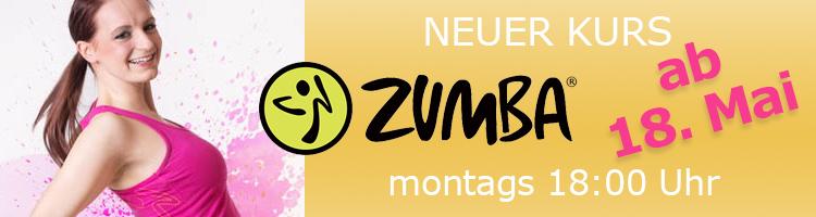 2015 Neuer Kurs ZUMBA in Leipzig montags 18