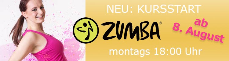 2016 Neuer Kurs ZUMBA in Leipzig montags 18